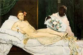 Manet's Olympia.