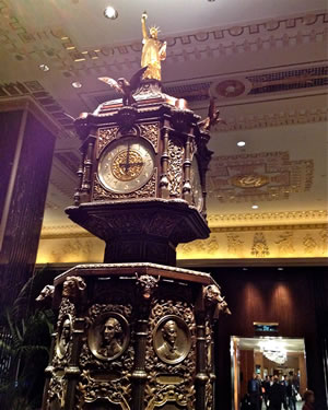 Christmas Eve at The Waldorf Astoria.