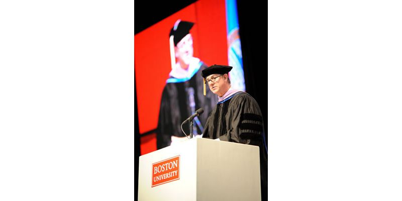2011. Commencement Address at Boston University School of Dental Medicine.